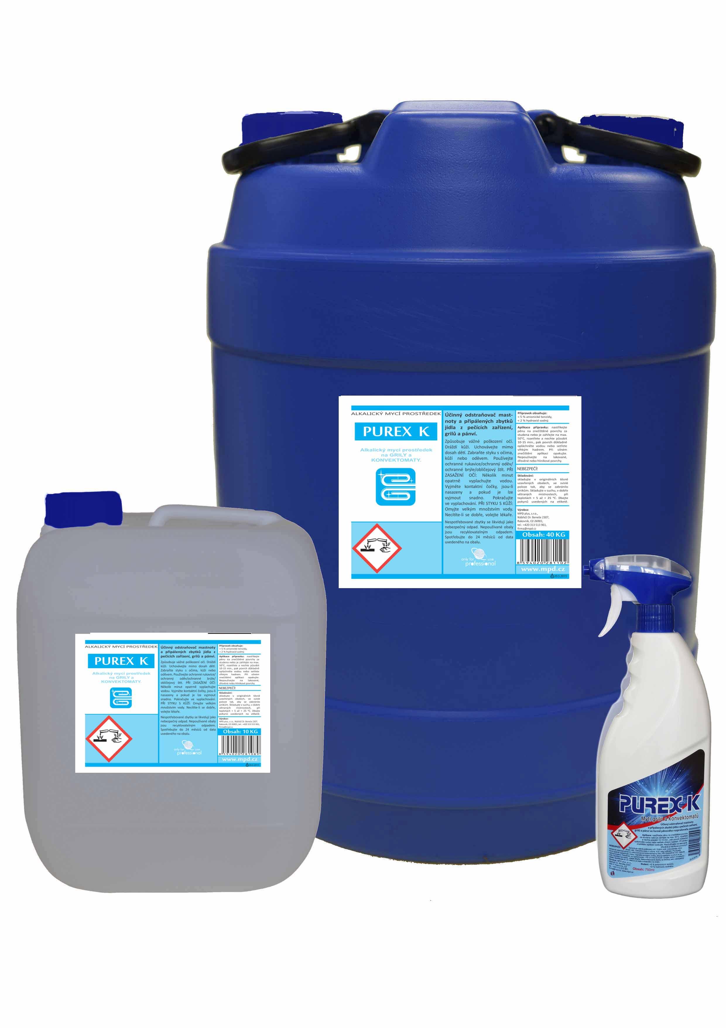 Purex K pro mytí konvektomatů 10kg