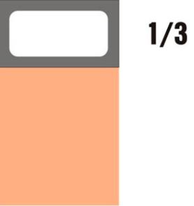 GN-P 1/3×65-hnědá porcelánová
