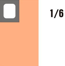 GN-P 1/6×65-hnědá porcelánová