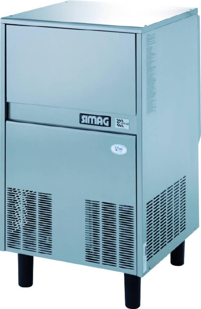 Výrobník ledové šupinkové tříště se zásobníkem SPR 80 A/W