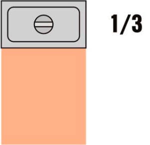 GKVD 1/3 Víko vodotěsné