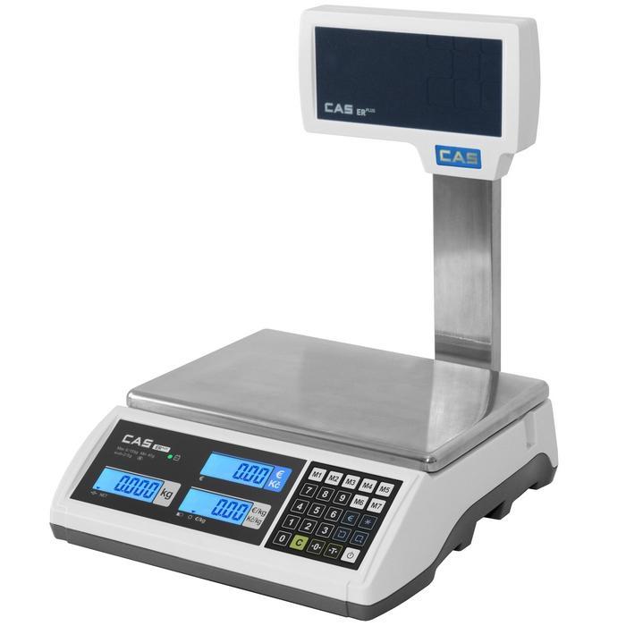 Váha obchodní CAS ER PLUS 30kg s nožkou