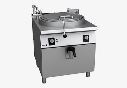 Plynový varný kotel tlakový 200l, LPG