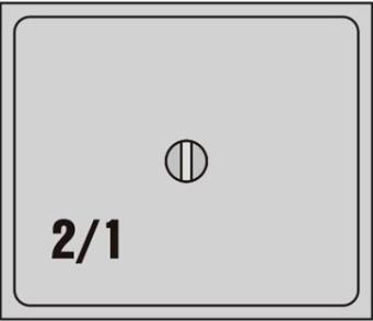 Víko GK PC 2/1 Polykarbonát