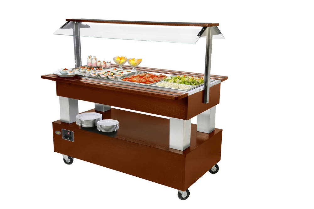 Salátový bar středový SB 60 C