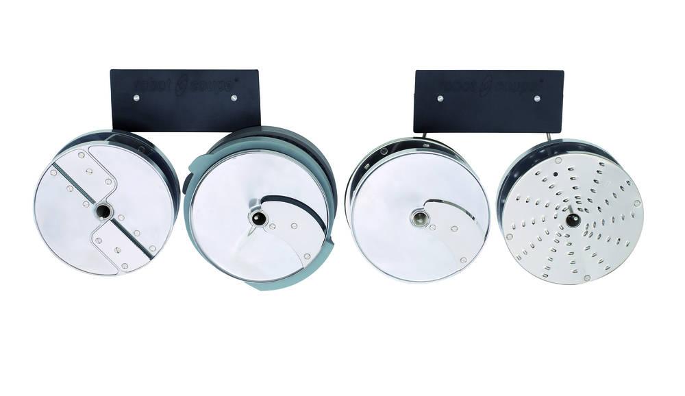 Nástěnný držák na disky – nerez 4 trny