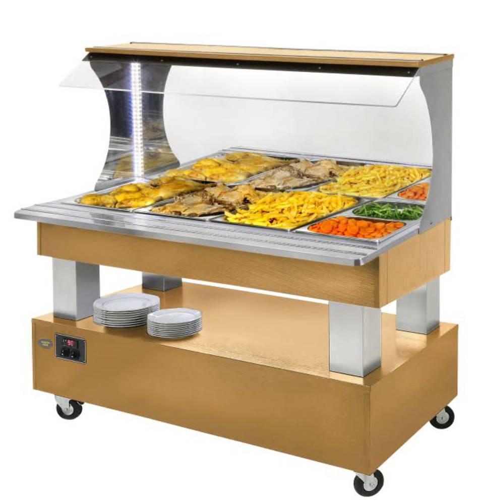 Salátový bar středový SB 60 M