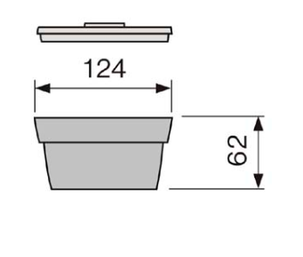 Miska polévková 124