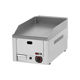 Elektrická grilovací deska rýhovaná chromovaná 510x796mm