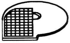 Mřížka kostkovací D 20×20