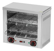 Toaster 6x kleště, 2x rošt