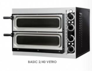Pec na pizzu BASIC 2/40 VETRO