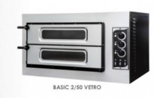 Pec na pizzu BASIC 2/50 VETRO