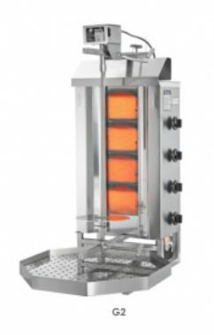 Gyros gril plynový G2 / MU