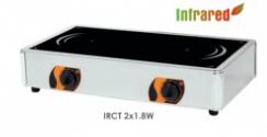 Sporák stolní plynový IRCT 2×1.8W