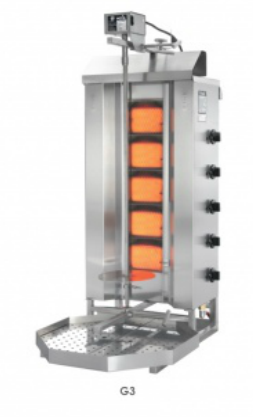 Gyros gril plynový G3 / MU