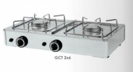 Sporák stolní plynový GCT 2×6