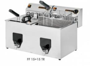 Fritéza FF 15 + 15 TR NV