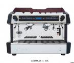 dvoupákový kávovar COMPASS II. DB. nerez/černý lak