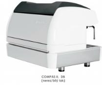 dvoupákový kávovar COMPASS II. DB. nerez/bílý lak
