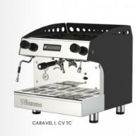 Jednopákový kávovar CARAVEL I. CV TC (Tall Cups)