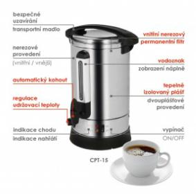 Výrobník kávy CPT-15