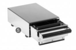 zásuvka vyklepávací 230×400