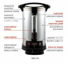 Varný izolovaný termos WBD-30
