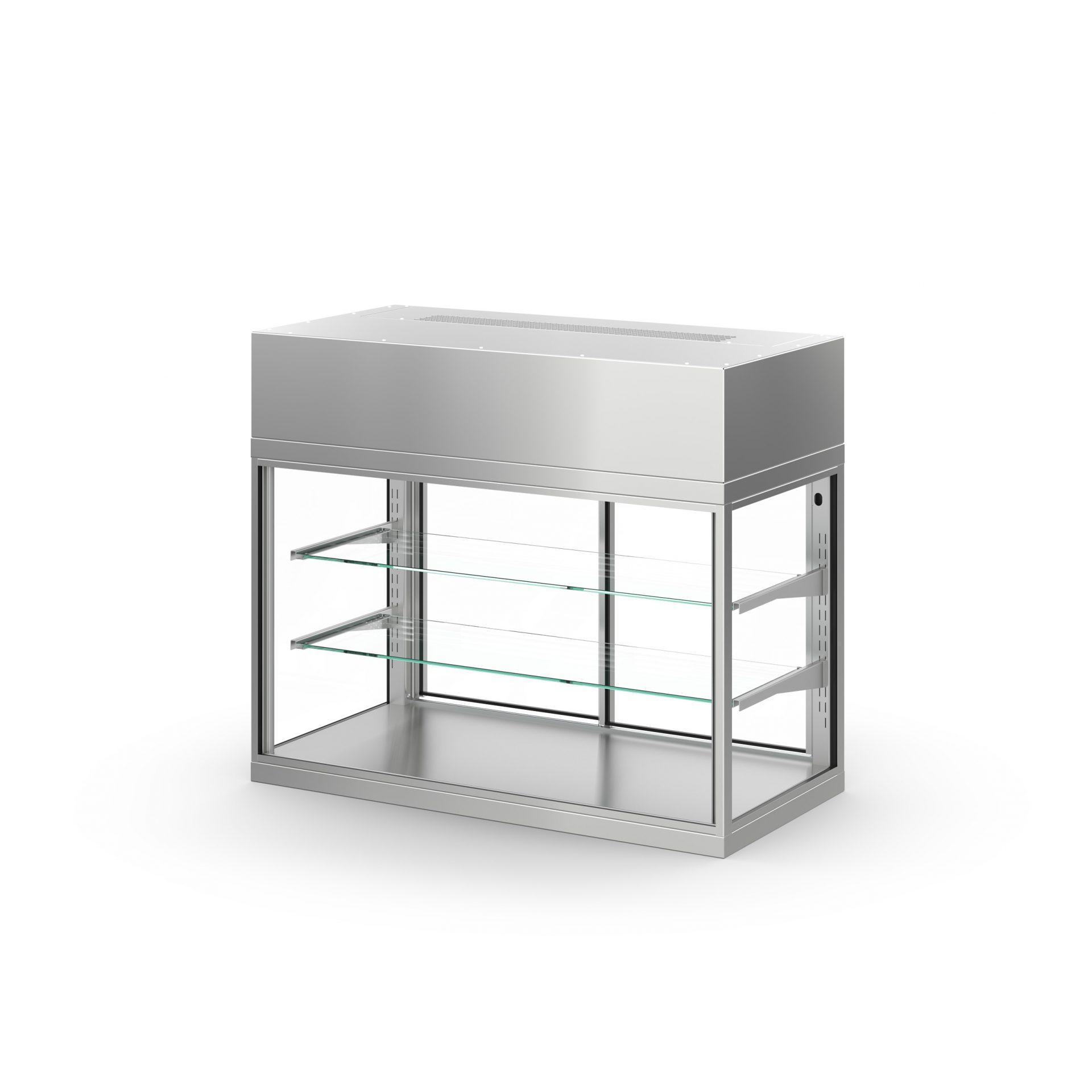 Chladící vitrína MODUS T MO120580FT2G10 samoobslužná 1200 x 500 x 850 mm