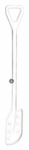 Kopisto s otvory 125x290mm