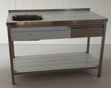 Mycí stůl MS1VHZP – nový, nepoužitý